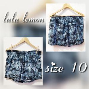 Lulu Lemon size 10 activewear shorts